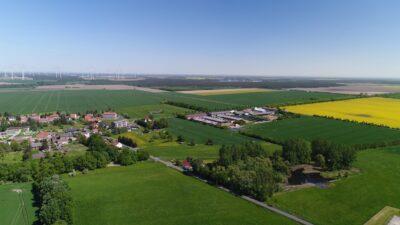 Agrargenossenschaft Goßmar eG aus der Luft